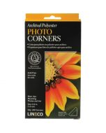 Corners, Archival Polyester Photo Corners, 13mm - pack of 240
