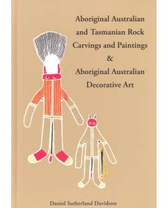 Cover of Aboriginal Australian and Tasmanian Rock Carvings
