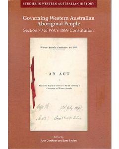 30. Governing Western Australian Aboriginal People