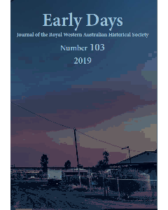 Early Days Number 103, 2019
