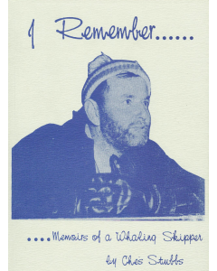 Cover of I Remember - Memoirs of a Whaling Skipper