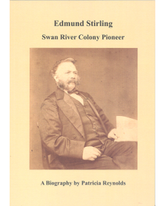 Cover of Edmund Stirling - Swan River Colony Pioneer