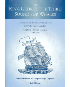 Cover of To King George the Third Sound for Whales