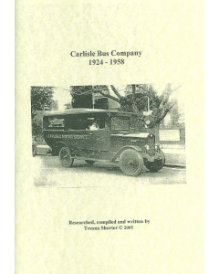 Cover of Carlisle Bus Company 1924-1958