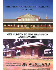 Cover of First Government Railway 1879-1957 Geraldton - Northampton, The