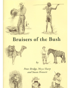 Cover of Bruisers of the Bush - Boxing and Wrestling Identities