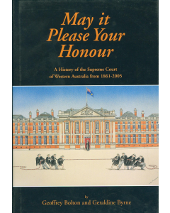 Cover of May It Please Your Honour
