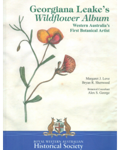 Cover of Georgiana Leakes Wildflower Album