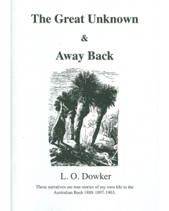 Cover of Great Unknown and Away Back, The