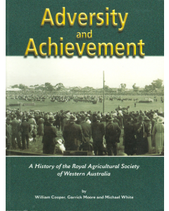 Cover of Adversity & Achievement - History of RAS of WA - paperback