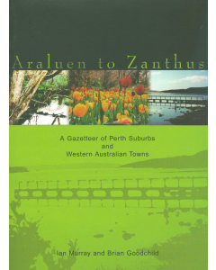 Cover of Araluen to Zanthus