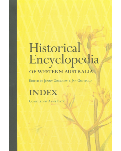 Cover of Historical Encyclopedia of WA  - Index