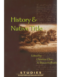 Cover of 23 History and Native Title
