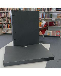 Binder with Slip Cover, Polypropylene, A2 40mm, Charcoal