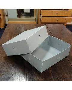 Box, Polypropylene, A4 320x230x100mm, Separate Base & Lid