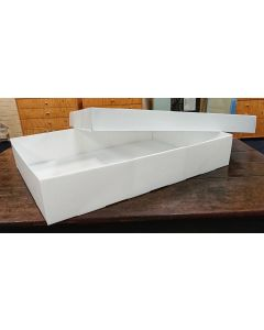 Box, Fluted Polypropylene, A1 610x860x150/90, Separate Base & Lid (Large Textile)