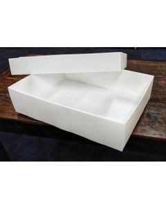 Box, Fluted Polypropylene, A2 440x610x150/90 ID, Separate Base & Lid (Medium Textile)