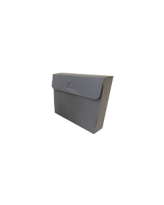 Box, Polypropylene, A5 215x155x30mm (Satchel)