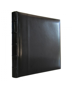 Photo Album, Leather Drymount, 50-page, Black, with Presentation/Storage Box