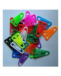 Paper Clips Polystyrene 35mm - 100 pack